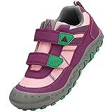 Mishansha Zapatos Colegio Niña Zapatillas de Montaña Ligeras Zapatos Niños Antideslizante Zapatos de Trekking Zapatillas de Senderismo A Rosa Gr. 29