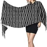 Alive Inc Scialle Scialle Avvolge Sciarpa grande bianca DNA Super Soft Calda Lussuosa Per le donne Impiegato Viaggi 2020