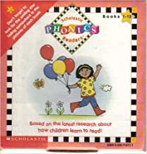 Scholastic Phonics Readers Set # 1/ Books 1-12 with Audio Cassette (Scholastic Phonics Readers Set #