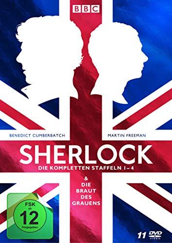 Sherlock - Die kompletten Staffeln 1-4 & Die Braut des Grauens [Limited Collector's Edition] [11 DVDs]