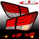 Rear LED Brake Signal Tail Light Lamp For Chevy Cruze (Red Clear)