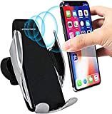 Trajectory Car Mobile Holder, Wireless Car Charger Automatic Clamping Fast Charging Phone Holder