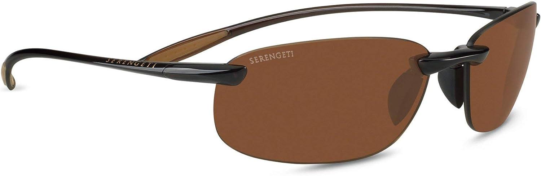 Serengeti Sport Nuvola Sunglasses Frame 7360 Shiny Brown New