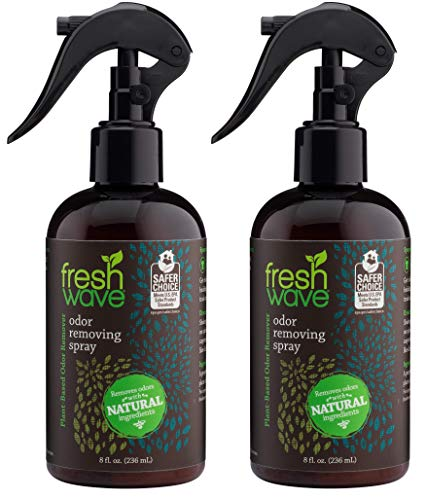 Fresh Wave Odor Eliminator Spray & Air Freshener, 8 fl. oz, Natural Ingredients (Pack of 2)