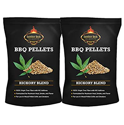 Lumber Jack 100% Real Wood Pellets Made of Hickory Wood