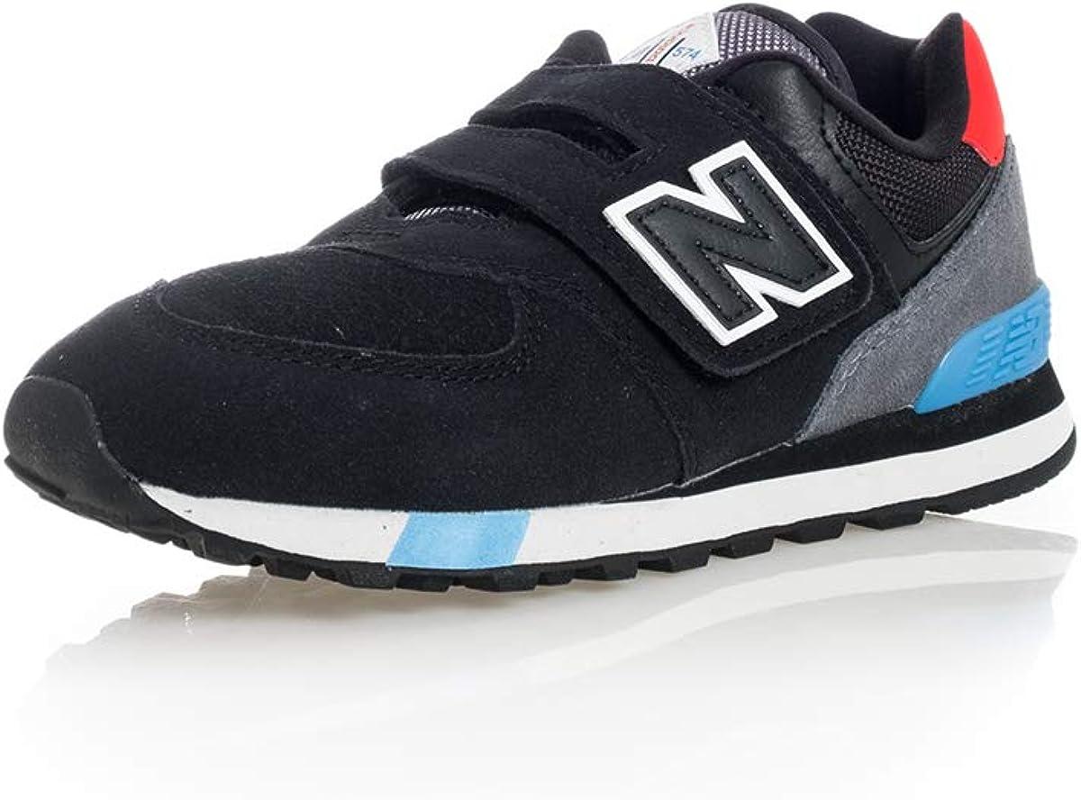 New Balance 574 Sneakers Nero Grigio Celeste Rosso YV574JHO (34.5 ...