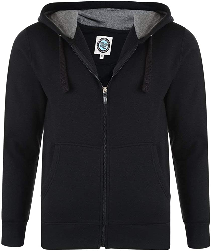 Kam Mens Extra Tall Fleece Hooded Sweat Shirt (503) in Size Mt to 4XLT, 3 Color Options