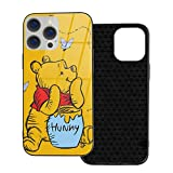 Classical Edward Pooh Bear Win-Nie Phone Case Phone 12 Pro Max case for iPhone 12 Glass case TPU Protective Case Non-Slip Phone Case