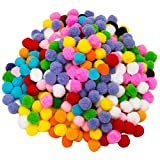 2000 Stück Pom Pom Bälle, gemischte Farben