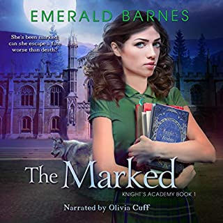 The Marked audiobook cover art