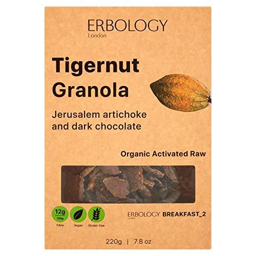 Granola con Topinambur e Chufa Bio (3 x 220g) - Crudo - Vegano - Senza glutine - Germogliato - Inulina - Tigernut