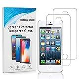 Weinstock-Science | 2X bruchsicheres Schutzglas für Apple iPhone 5 / 5S / SE | Schutzfolie aus 9H Echt Glas