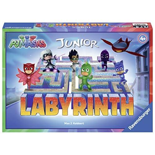 Ravensburger–Labirinto Junior pyjamasques, 21408 [Versione Francese]