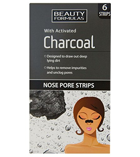 Beauty Formulas Nose Pore Strips with Activated Charcoal