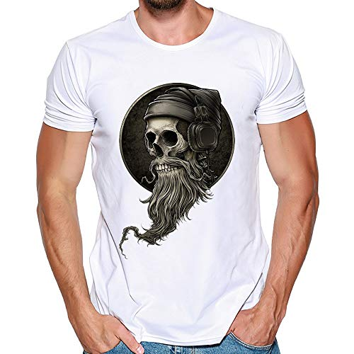 Grande para hombre BTS Hippy Calavera Camiseta Muchos Colores 2XL 3XL 4XL 5XL 6XL 7XL 8XL