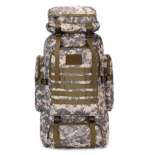 Waterproof Climbing Hiking Military Tactical Backpack 70L Camping...