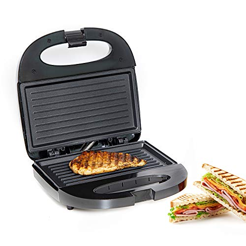 Geepas 750W 2 Slice Sandwich Toaster   Non-Stick Plates Grill Maker &...