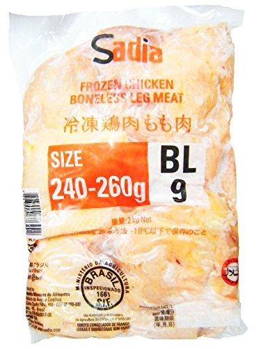 外国産 ブラジル産 鶏モモ肉 2kg 冷凍品 業務用