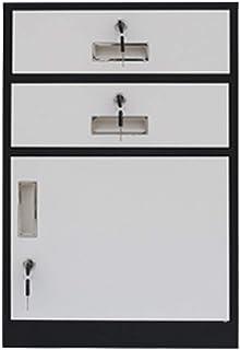 Tiroir de Cabinet d'outil de casier de Cabinet de dossier bas avec la petite armoire de bureau de tiroirs trois, (Color : A4)