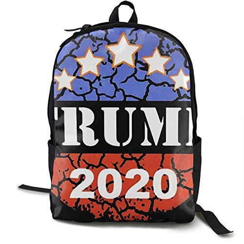 Pumpkin Pie Donald Trump 2020 viaje portátil mochila para hombre para acampar escalada ciclismo