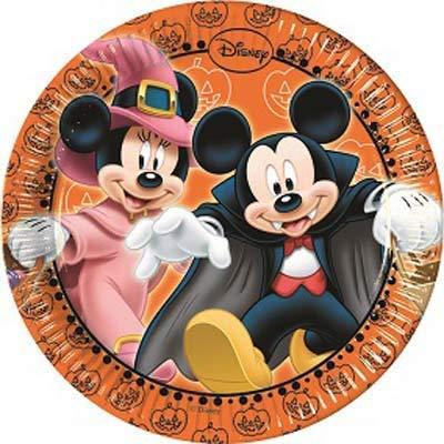 Party Store Web by Casa Dolce Casa Mickey Mouse Halloween Coordinado Addobi Fiesta - (40 platos)