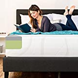 Best Choice Products 12in Queen Size 2-Layer Medium-Firm Mattress w/Moisture Wicking, Odor Reducing Bamboo Charcoal Gel & Green Tea Infused Memory Foam - CertiPUR-US Certified