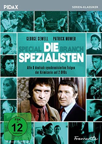 Die Spezialisten (Special Branch) / Alle 8 deutsch synchronisierten Folgen der erfolgreichen Krimiserie (Pidax Serien-Klassiker) [2 DVDs]