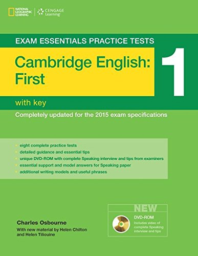 Exam essentials practice tests: fist FCE. With key. Per le Scuole superiori: ESSENTIAL TEST 1 +KEY+DVDR FIRST VOLUMEN 1 15: Cambridge First Practice Tests 1 W/Key + DVD-ROM