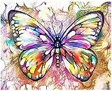 XINTONG Puzzle 1000 Piezas Coloridas Mariposas DIY Rompecabezas de Madera Estilo de decoración del hogar