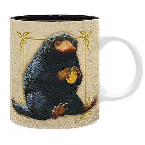 Phantastische Tierwesen 2 - Grindelwalds Verbrechen - Premium Keramik Tasse - Niffler - Geschenkbox
