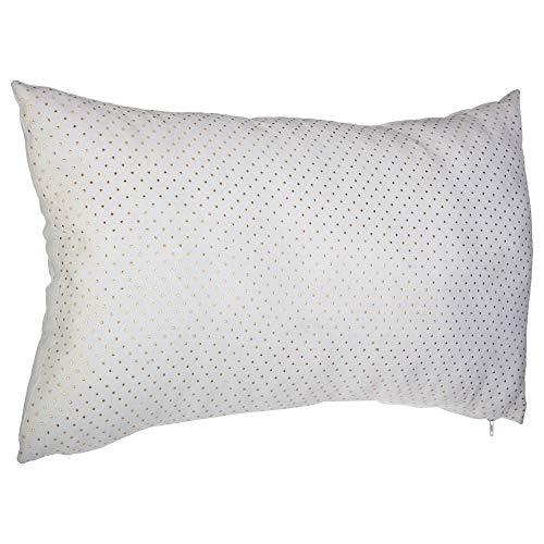 ATMOSPHERA, sierkussen 50 x 30 cm, wit, kleur: wit
