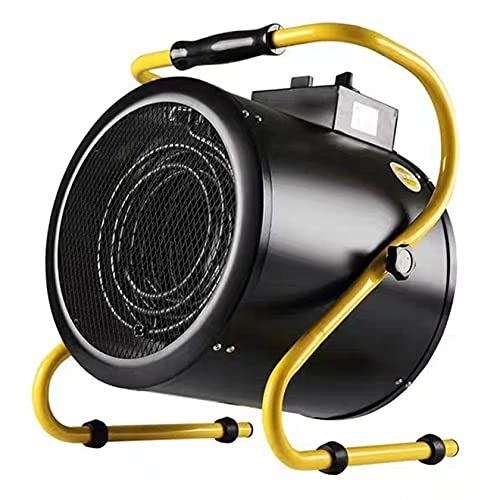 YQJY Calentador Eléctrico Industrial 3kw/5kw/9kw del Ventilador De Temperatura Ajustable A Sistida...
