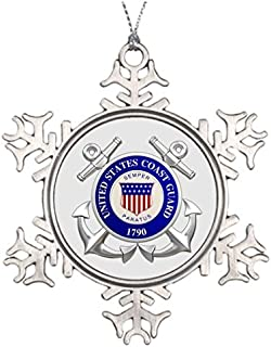 Trend Tim Department of Homeland Security United States Coast Guard Personalised Christmas Tree Decoration