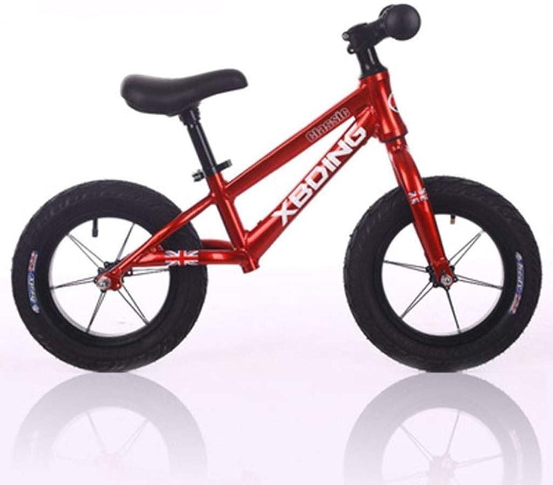SZHSM Alliage d'aluminium Ultra léger en Alliage d'aluminium Pedalless vélo   Voiture Voiture 2-3-6 Ans Enfants Enfants Voiture (Couleur   rouge)