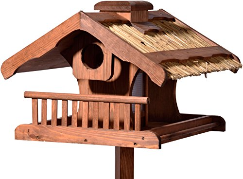 Luxus-Vogelhaus 49009FSC mit Ständer massiv, XXL groß, 54 x 53 x 157.5 cm - 6