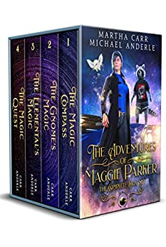 The Adventures of Maggie Parker Complete Box Set: The Magic Compass, The Gnome's Magic, The Elemental's Magic, The Magic Quest by [Martha Carr, Michael Anderle]