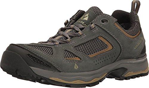 Vasque Mens Breeze III GTX Gore-tex Waterproof Breathable Hiking Boot, Magnet/Lizard, Size 7 M