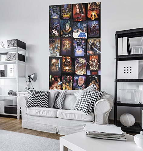 Komar - Star Wars - Vlies fotobehang POSTERS COLLAGE - 120 x 200 cm - behang, muurdecoratie, Galaxy, Jedi - VD-048