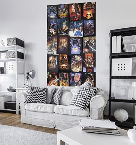 "KOMAR Vlies Panel\""Star Wars Posters Collage\"""
