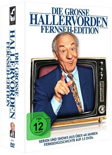 Die große Hallervorden Fernseh-Edition [13 DVDs]