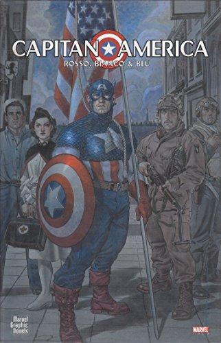 Capitan America rosso, bianco e blu