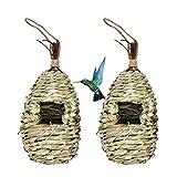 Hummingbird Birdhouse for Outdoor...