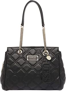 GUESS Womens Lolli Satchel Bag