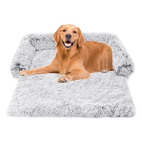 Biutimarden - Coperta ortopedica per cani e cani, lavabile, calda e morbida, confortevole cuscino per cani e gabbia, tappetino per animali domestici, divano con fondo...