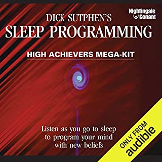 Sleep Programming High Achievers audiobook cover art