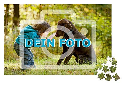 Puzzle mit eigenem Foto gestalten, 112 bis 264 Teile | Individuelles Foto-Puzzle mit eigenem Bild zum selbst gestalten, ideal als persönliches Fotogeschenk (264 Teile)