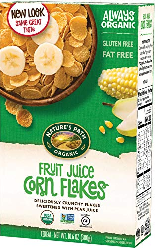 Nature's Path, Organic FJS Corn Flakes Cereal, 10.6 oz