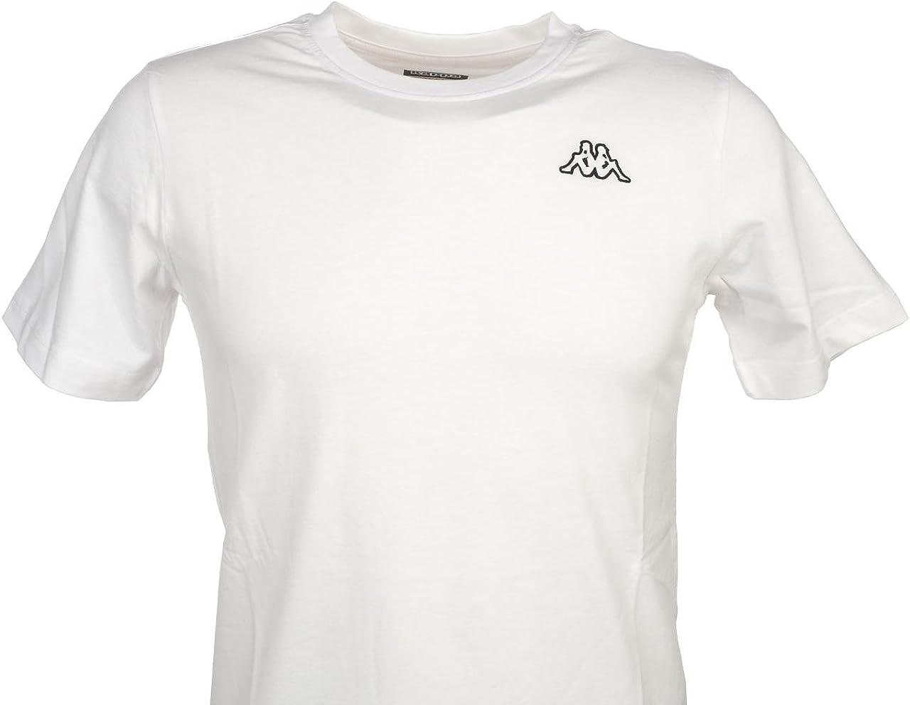 Kappa Cafers Slim tee Camiseta, Hombre