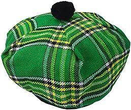 Scottish Kilt Tam O' Shanter Acrylic Wool Tammy Hat One Size Various Tartans