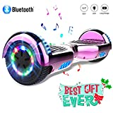 COLORWAY Hoverboard 6.5'' Smart Scooter Auto Bilanciamento Bluetooth elettrico e LED Multicolor...